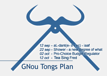 GNou Tongs Plan - winter 00